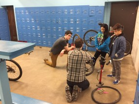 Farnsworth Bike Fix-up Day 2