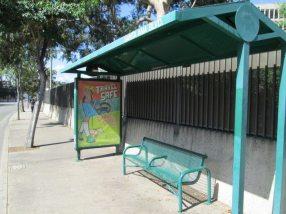 Santa Ana Bus Shelter Poster
