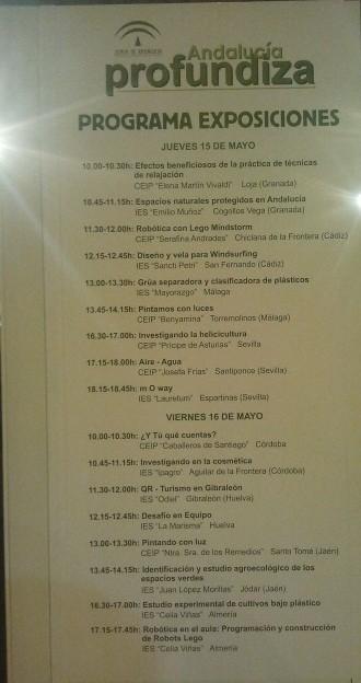 El IES Celia Viñas en  La 12ª Feria de la Ciencia (1/6)