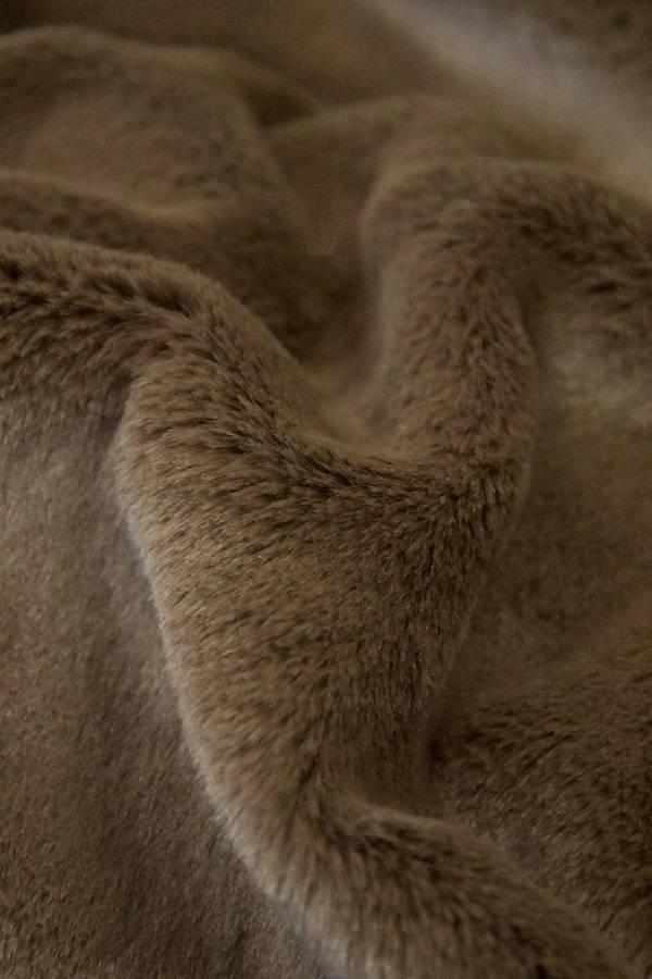 Мех искусственный мутон плотный ворс красивый коричневый оттенок_01