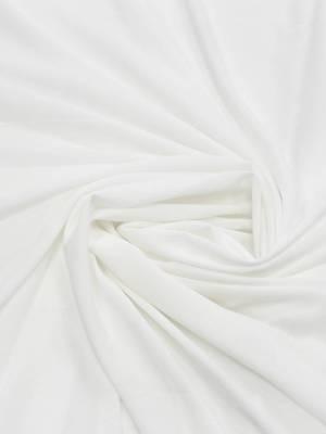 Креп молочно-белого оттенка