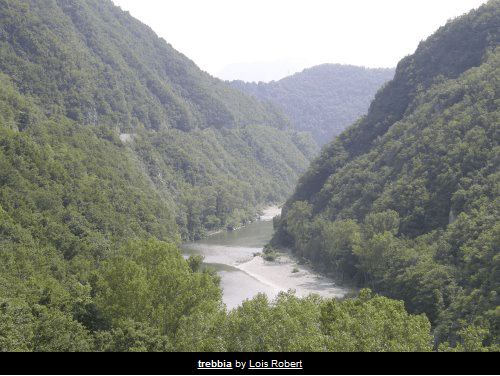 The best places to swim in the Trebbia (1/6)