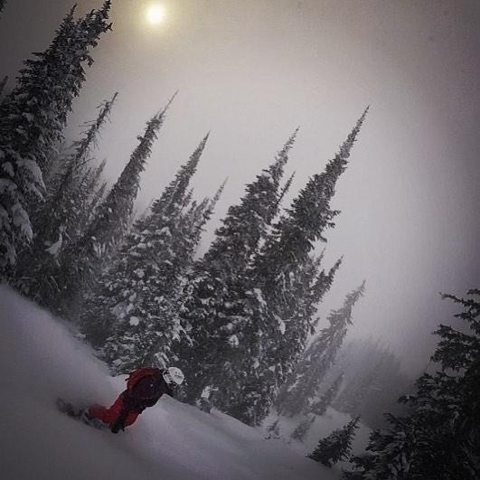 Amanda Snowboarding
