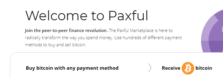 Buy Bitcoin on Paxful