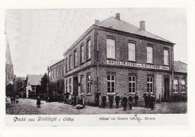 -45- Von der Familie Ostendorf ging das Hotel an die Familie Grote, die es renovierte und in den 20er Jahren an den Hotelier Heinrich Koops verkaufte.