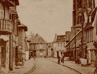 -19- Blickrichtung Osten - Lange Straße