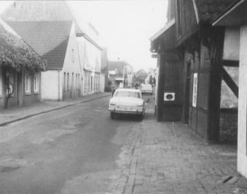 -79- Blick in die Burgstraße vom Haus Schuhmacher 1967.