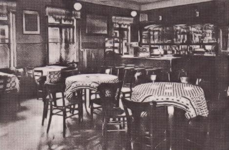 -59- Innenansicht der Gaststätte Wehebrink