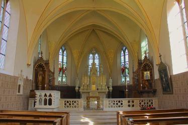 -60a- Innenansicht der Burgkapelle (Foto: C. Dressler)