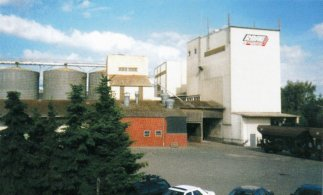 Lagergebäude der LBAG Dinklage Badbergen und der Futtermittelfirma Böring