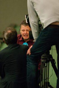 Abteilungsleiter Brian Mantle ist auch Geschäftsführer des Deutschen Cricket Verbandes