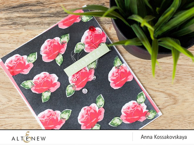 Masking Background card @akossakovskaya @altenew #carmaking #altenew