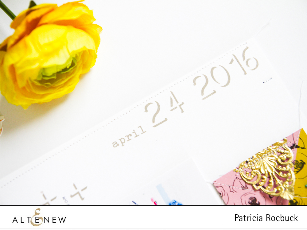 Create Details with Stamping and Die Cutting On Your Layout @paroe Stamps - @Altenew