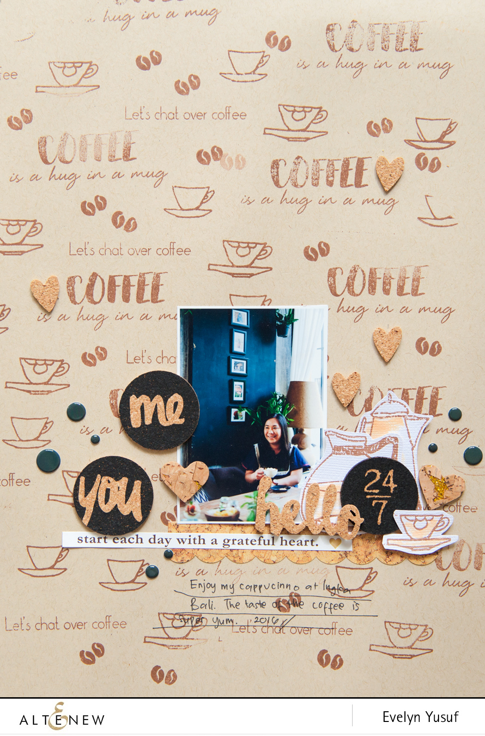 Coffee Talk Full Layout by Evelynpy