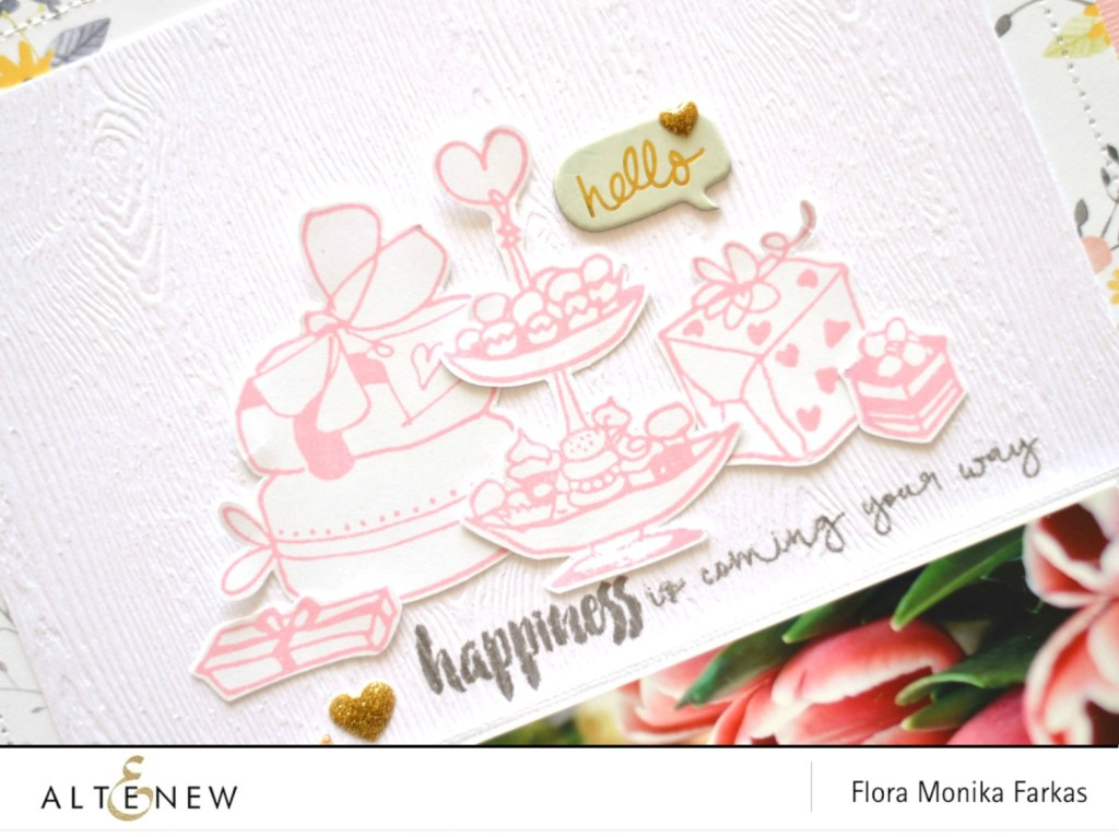 celebrations stamp set by altenew