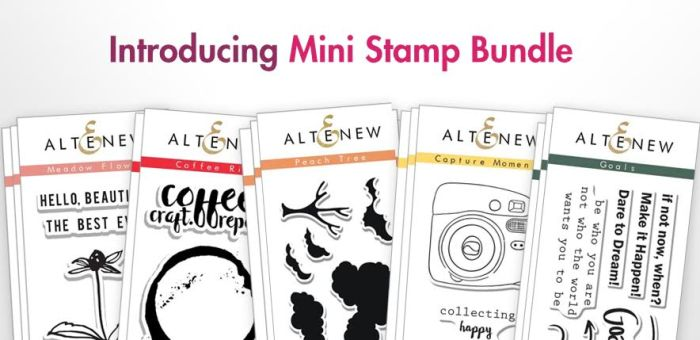 mini stamp bundle