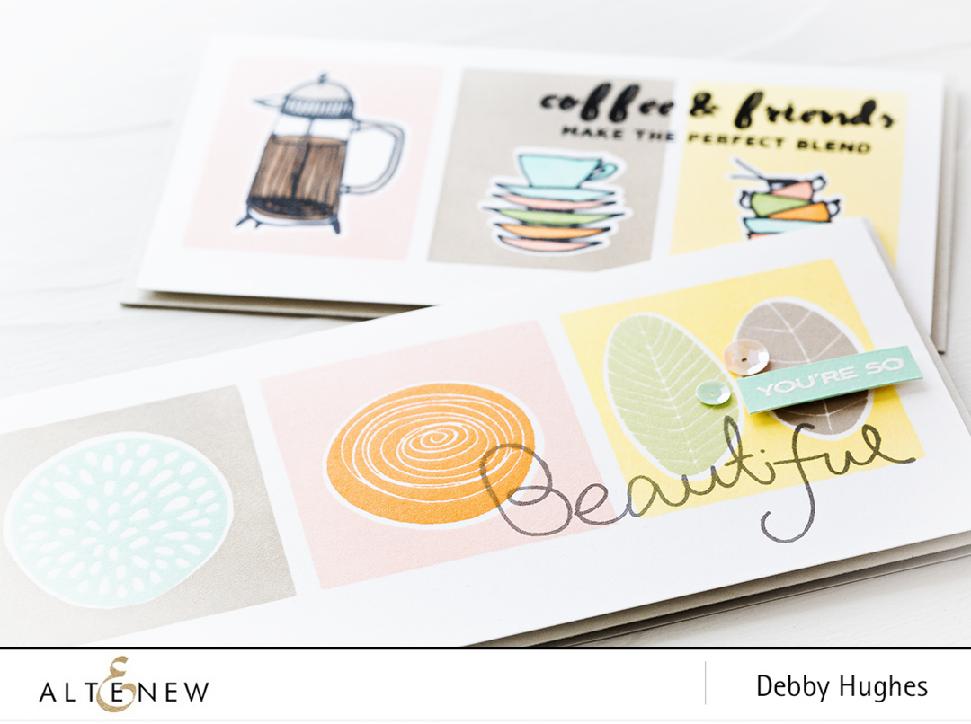 Video tutorial showing how to create a retro stamping look. Find out more by clicking on the following link: https://altenewblog.com/2016/10/28/video-retro-stamping/