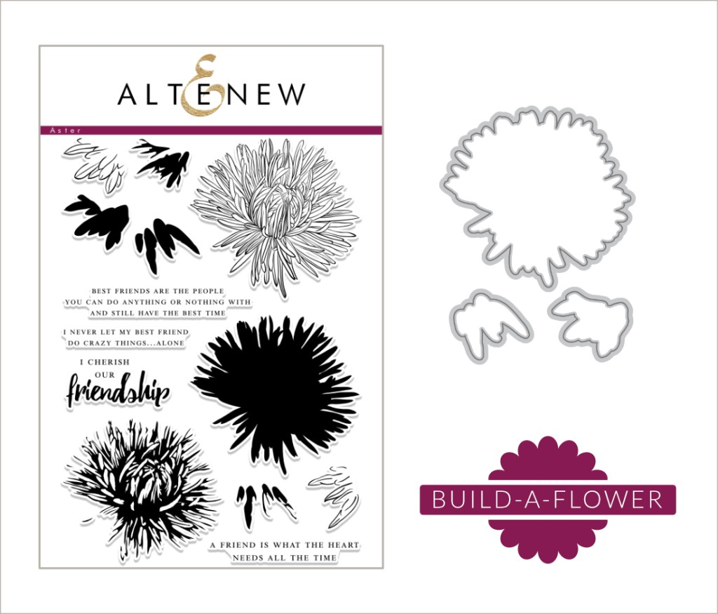 Build-A-Flower: Aster Release + Giveaway - Altenew Blog