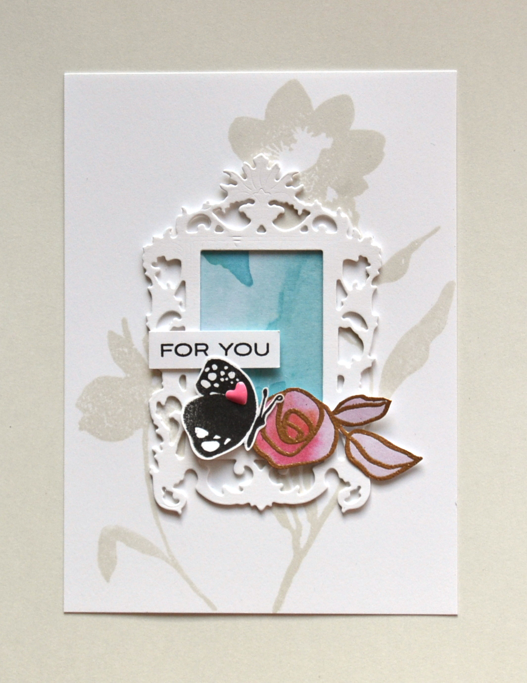 Stamps, Paper and Glitter Tape! All In The New Day Card Kit ...