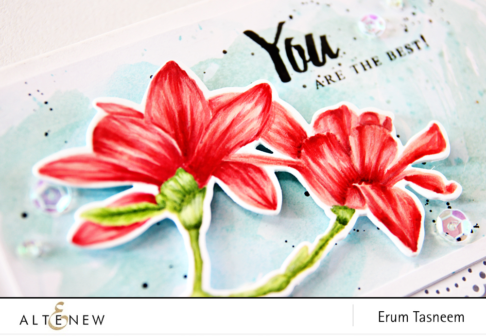 Eight different looks and colouring techniques featuring Altenew Build-A-Flower Magnolia by Erum Tasneem - @pr0digy0 This features colouring with Artist markers Set A