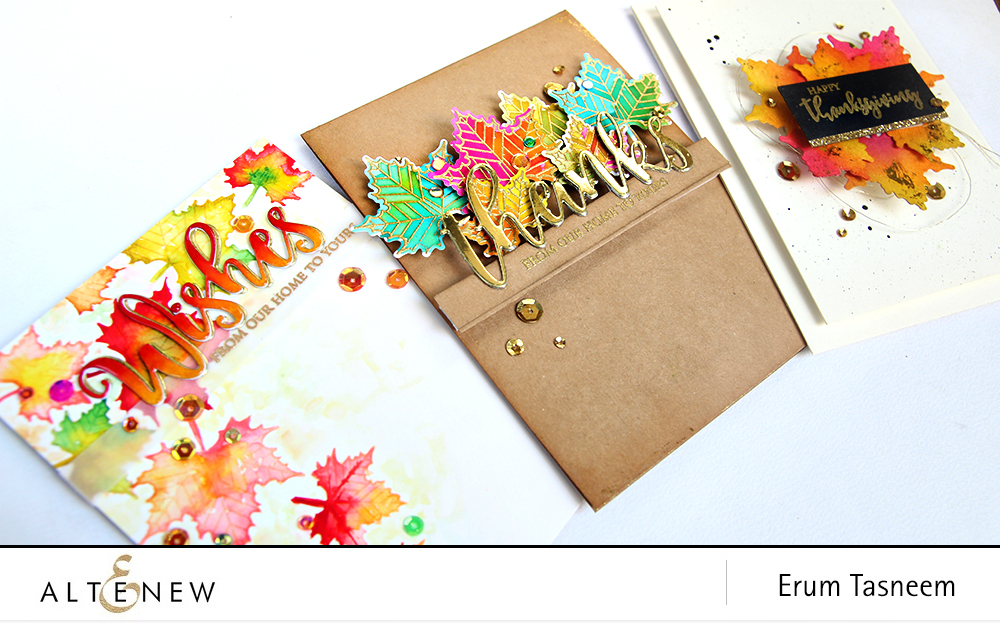 Altenew With Gratitude Stamp Set | Erum Tasneem | @pr0dig0 | @altenew