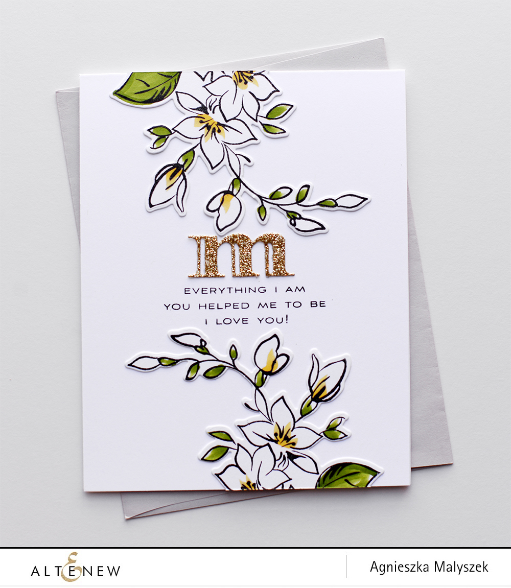Two Mother's Day Cards with Best Mom Stamp Set - Altenew Blog