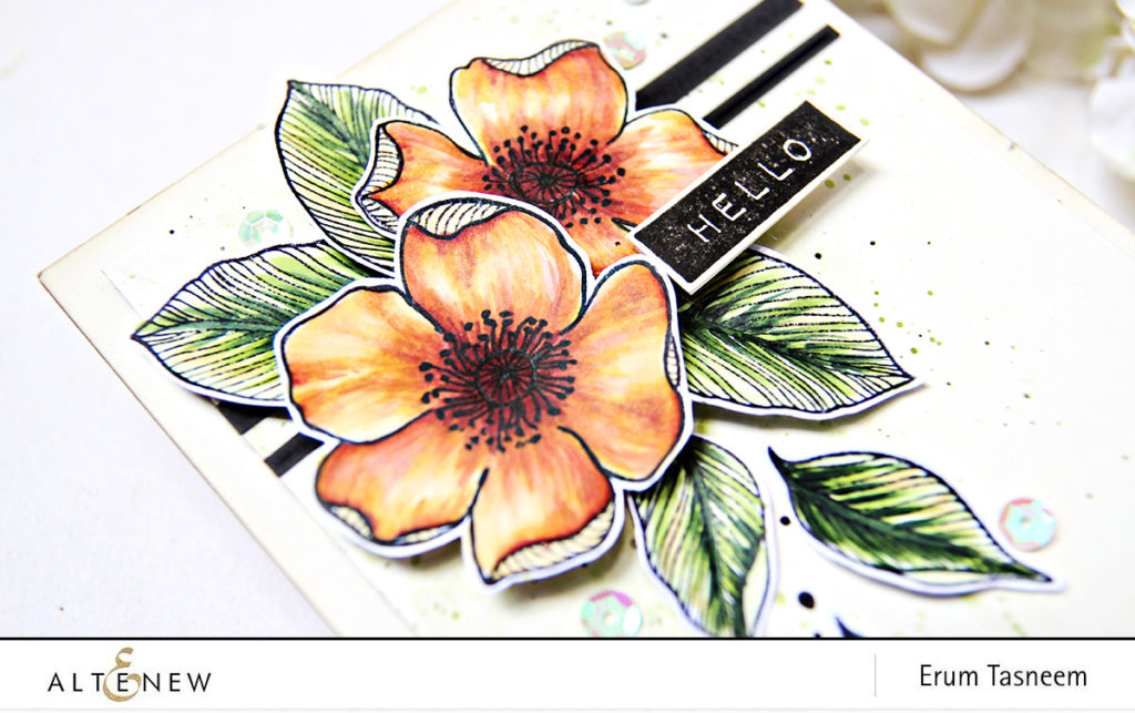 Altenew Adore You Stamp Set + Artist Marker Coloring | Erum Tasneem | @pr0digy0
