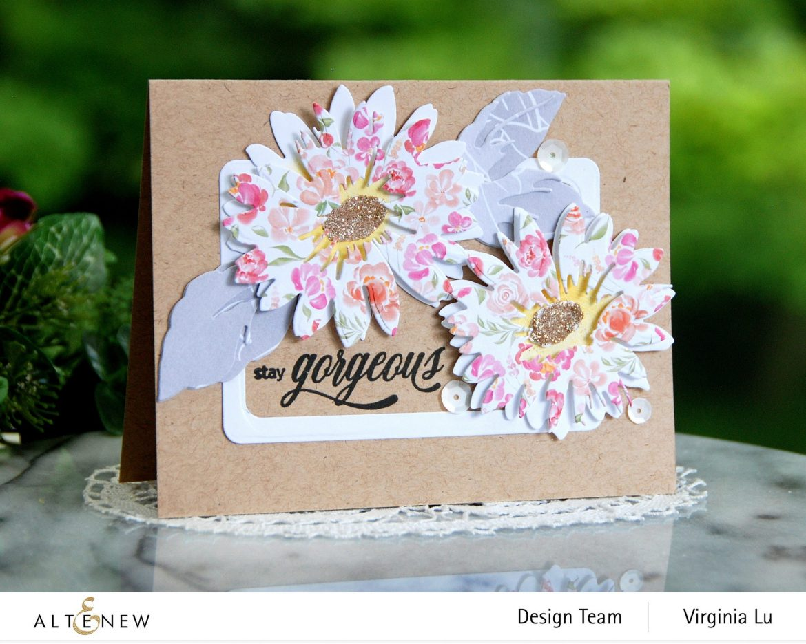 Altenew-Craft-a- Flower Daisy-Rounded Rectangles-Celebrate Paper Pad-0808 2020