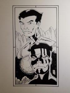 Captain Paiute artwork by Theo Tso