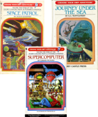 Choose-You-Own-Adventure books