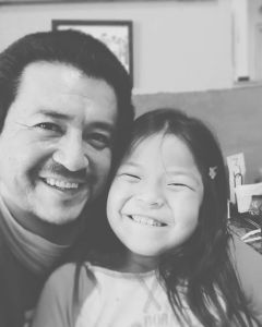 Shaun & his daughter