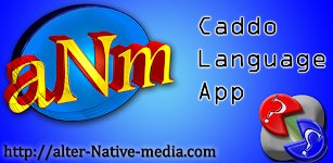 Banner for Caddo Language App for Android.