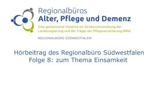 Logo Regionalbüro Südwestfalen und Schriftzug Hörbeitrag