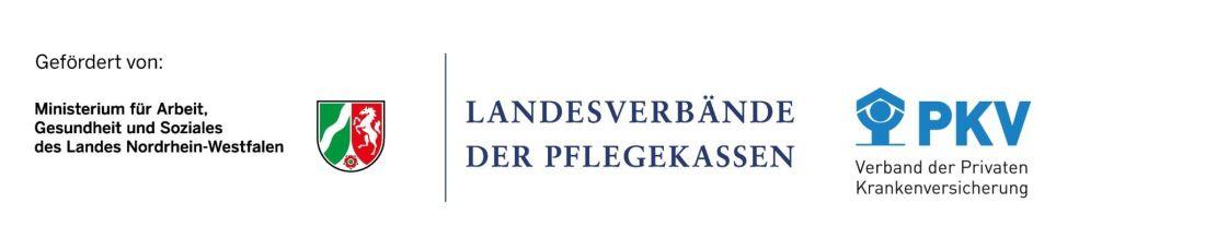 Logo MAGS, Pflegekassen und PKV