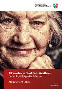 Screenshot des Altenberichtes.