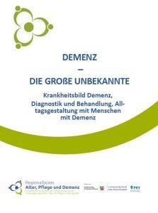 Screenshot des Titelblatts der Broschüre.