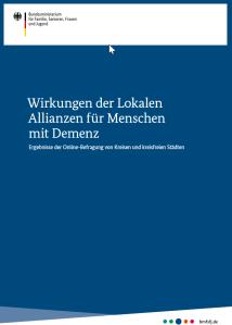 Screenshot des Titelblattes.