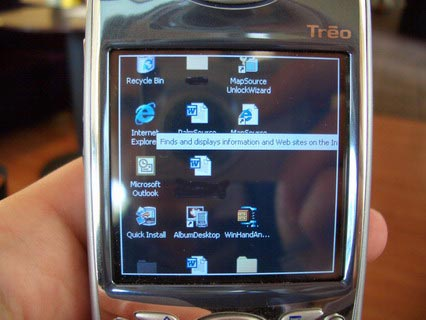 Remote Desktop on Treo 650