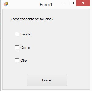 form checkbox