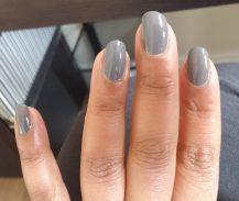 Grey frankenpolish