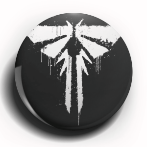 Last of Us Logo Button Pin