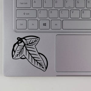 Lord of the Rings Leaves of Lorien Decal