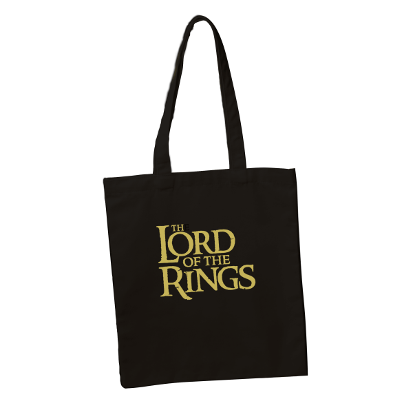 Lord of the Rings Logo Tote Bag