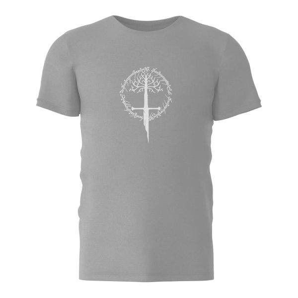 Lord of the Rings White Tree of Gondor and Narsil T-Shirt