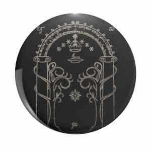 Lord of the Rings Gates of Moria Button Pin