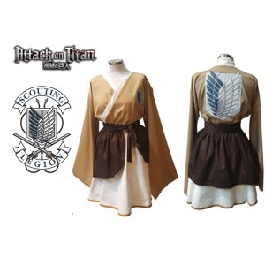 Attack on Titan Inspired Dress
