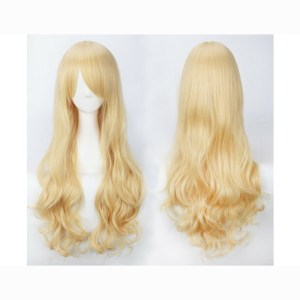 Curly Long Blond Wig