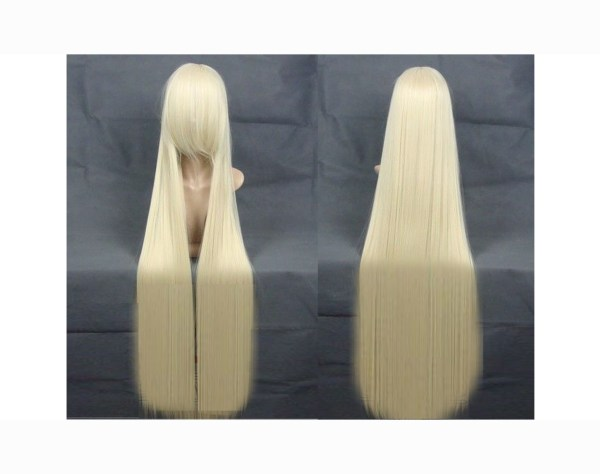 Straight Very Long Blond Wig