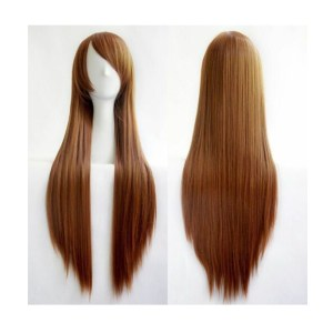 Straight Long Brown Wig