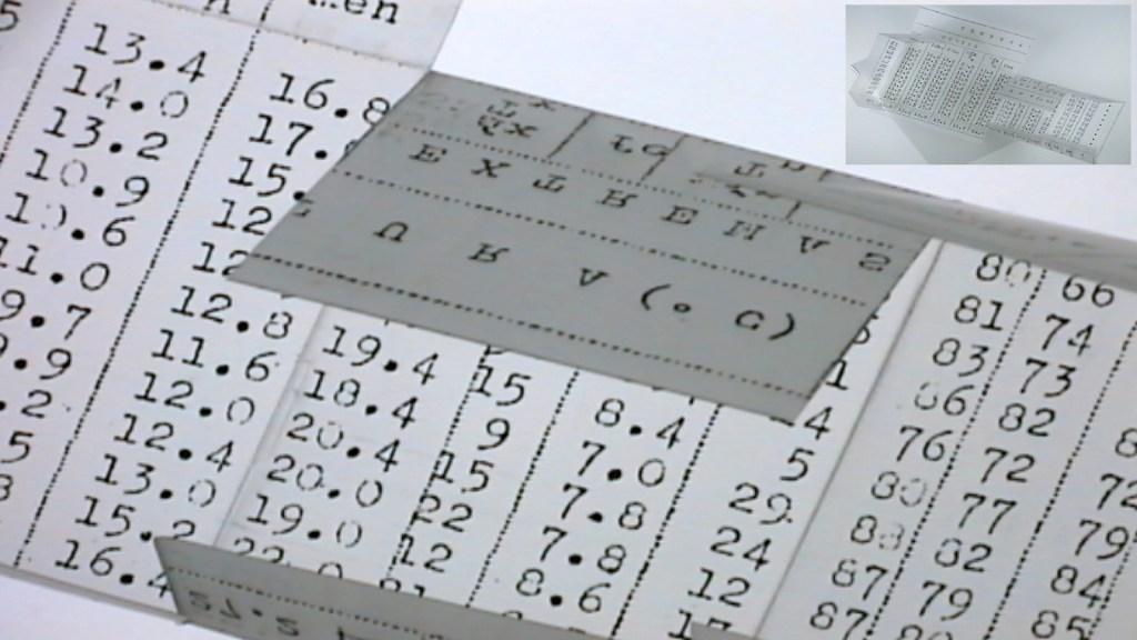 Metamorphosis Log Books: Valparaiso 1968 Open Book and Data Set Detail © 2015